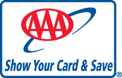 aaa card graphic